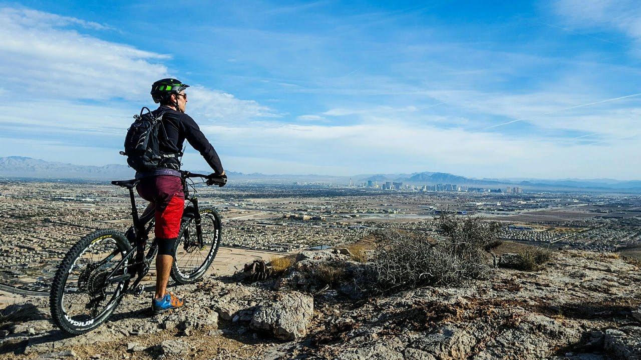 9d5b2b091 Mountain Biking Ike s Peak and 3 Mile Smile in Las Vegas - YouTube