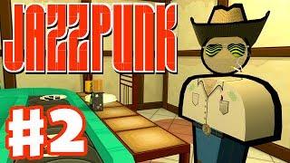 Jazzpunk - Gameplay Walkthrough Part 2 - Cowboy