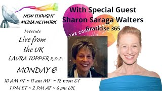 The Cosmic Prayer with Laura Topper w/ Special Guest Sharon Saraga Walters