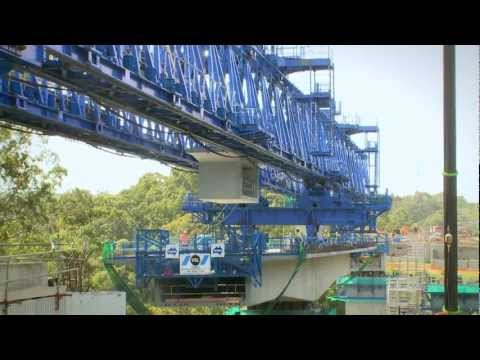 Hunter Expressway - High Bridge Construction