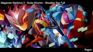 Megaman Starforce 3 - Sonia Strumm - Shooting Star Full + mp3 Download