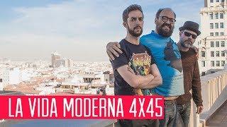 La Vida Moderna 4x45...es celebrar el 20N haciendo un survival zombie en el Valle de los caídos