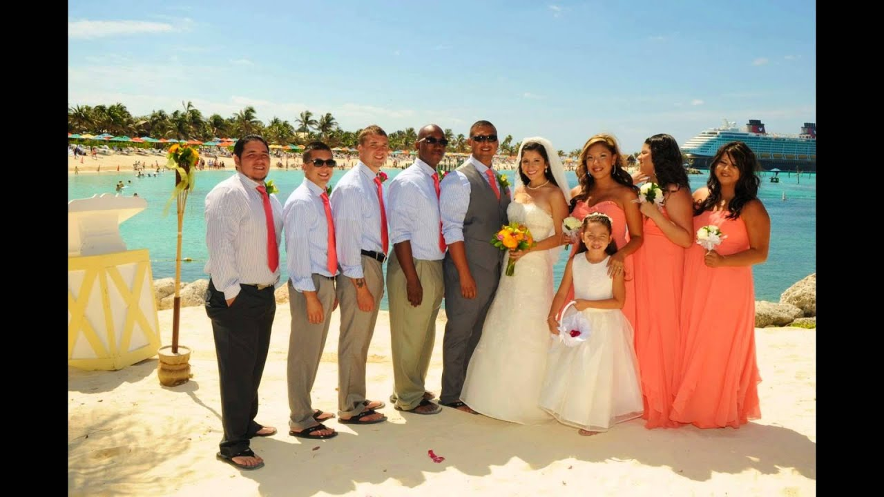 Our Disney Fairytale Wedding Castaway Cay May 2017