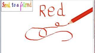 Ensine cores em inglês para crianças - canção infantil