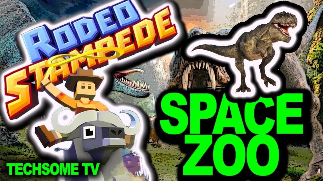 Rodeo Stampede Space Zoo Dinosaurs Everywhere New