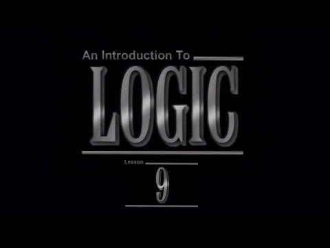 Logic: 9. Laws of Thought