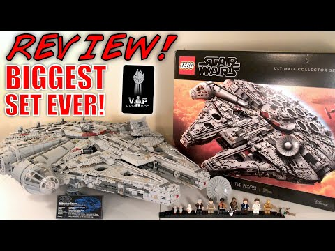 LEGO Star Wars 75192 UCS MILLENNIUM FALCON Review! | BIGGEST LEGO SET EVER! | INCREDIBLE!