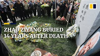 Low-key ceremony as Zhao Ziyang, who opposed Tiananmen crackdown, finally laid to rest