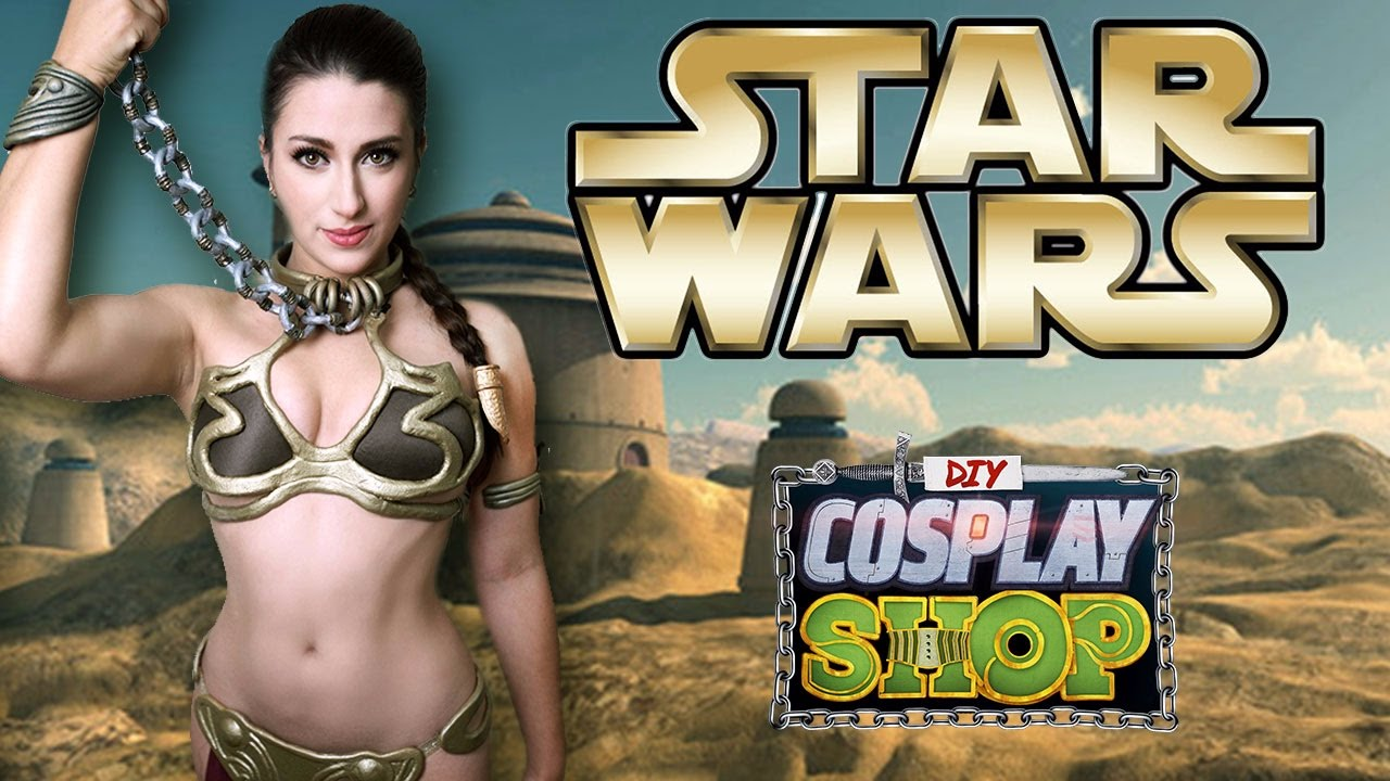 How To Make Princess Leia S Iconic Slave Leia Costume From Star