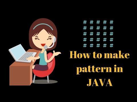 how-to-make-java-pattern-program