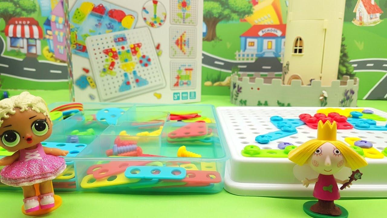 Ben e LOL Surprise Lolina giocano con una sfida divertentissima 😆 per bambine video educativo ☺️