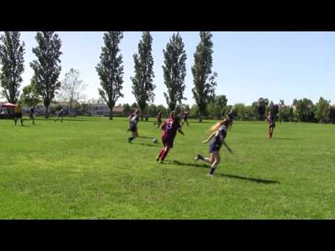 Ceres U17 player comes in with late elbow vs. FC Elk Grove