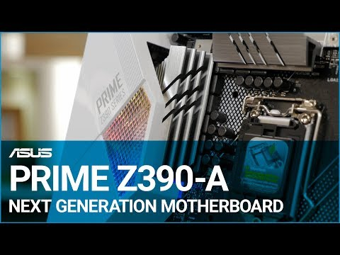 ASUS PRIME Z390-A Next Generation Motherboard Overview