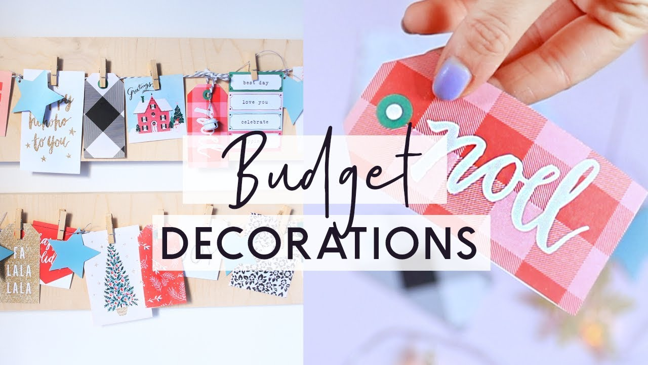 diy christmas decorations on a budget easy and cheap diy christmas room decor