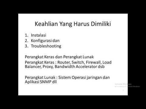 Mengenal Profesi Network Engineer