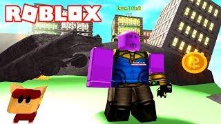 LLEGO CON THANOS A NUEVA YORK! 💥 Roblox Superhero Simulator