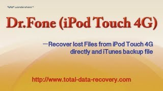 Data Recovery for iOS | Recover data from iPod Touch 4G directly & iTunes backup