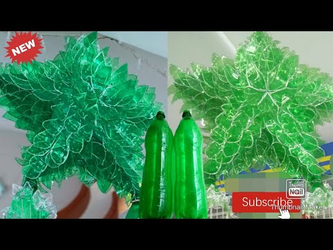 DIY STAR made of recycled materials|| Jewel Video Collection