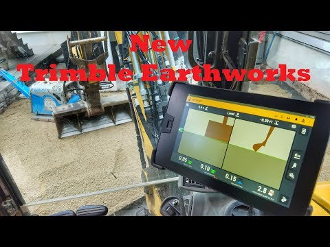 New Trimble Earthworks - Informative Walk-Around