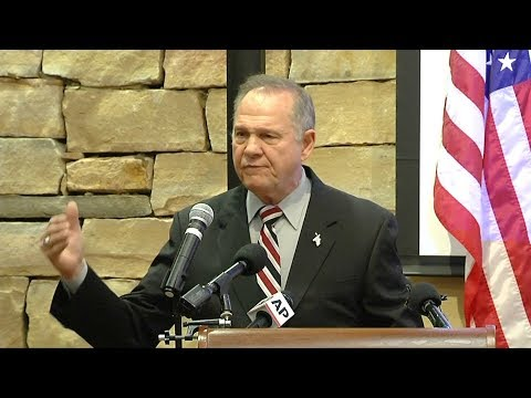 On Eve of Alabama Senate Election, a Look at Roy Moore's Racism, Homophobia & Religious Fanaticism