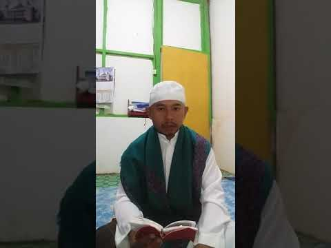 Kusno baca doa akasah