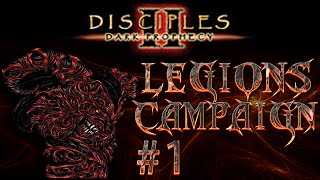 Let's Quest! Disciples 2 - Dark Prophecy (Legions Campaign) Ep. 1 | Call to Arms