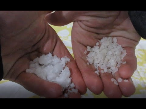Purifying Magnesium Chloride Road Salt