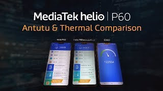 MediaTek Helio P60 - Thermal & AnTuTU Benchmarking Comparison With Competitors
