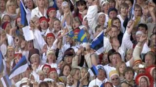 "High Quality - ""Ta  lendab mesipuu poole"" // Estonian Song Celebration 2009"