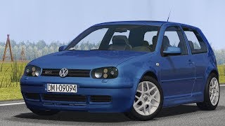 Volkswagen Golf IV GTI 1.8T drive (Links) - Racer: free game