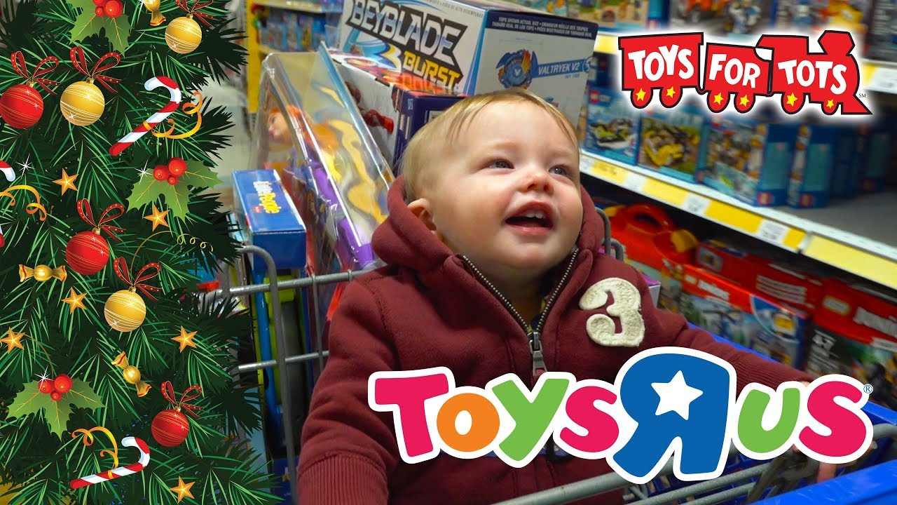 Toys For Tots Rating : Christmas shopping spree surprise toys for tots toy hunt