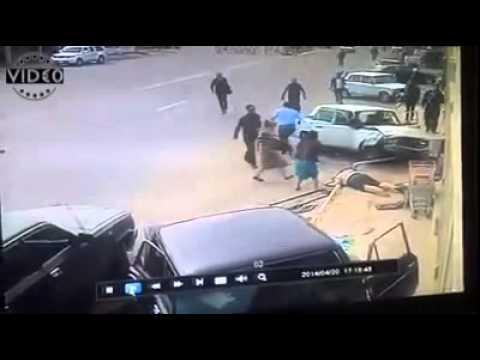 V!D€0 - car crash in Baku City