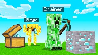 Playing MINECRAFT BUT As EVIL MOBS!