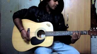 O Mere Dil Ke Chain ,A Guitar Cover By Mohit Malhotra