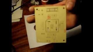 DIY PCB silkscreen cheap, easy and fast