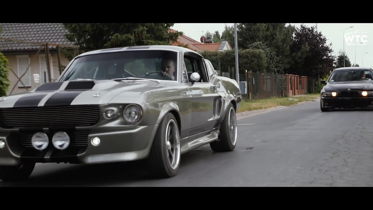 Trailer gone in 60 seconds ford mustang eleanor shelby gt500 bmw e39 540i ford crown victoria