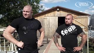 [ENG SUB] Mateusz Kieliszkowski x Konrad Karwat - trening hantla