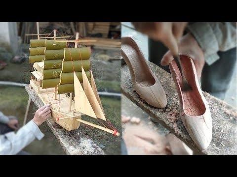Creative ideas craft bamboo & Wood make amazing artwork