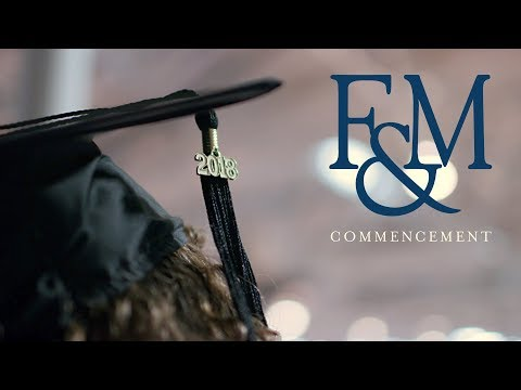 F&M Commencement 2018