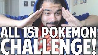 Original 151 Pokémon Challenge