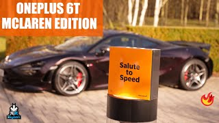 OnePlus 6t McLaren Edition Unboxing And Hands On