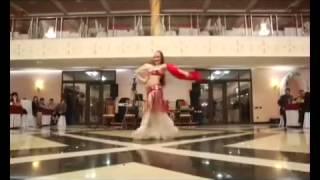 Тая. Восточный танец с веерами вейлами. Таганрог
