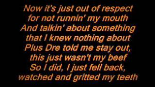 Eminem-like toy soldiers lyrics (clean)