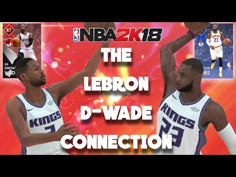 NBA 2K18 MyTeam Super Max - The LeBron James & Dwyane Wade Connection can't be Stopped!