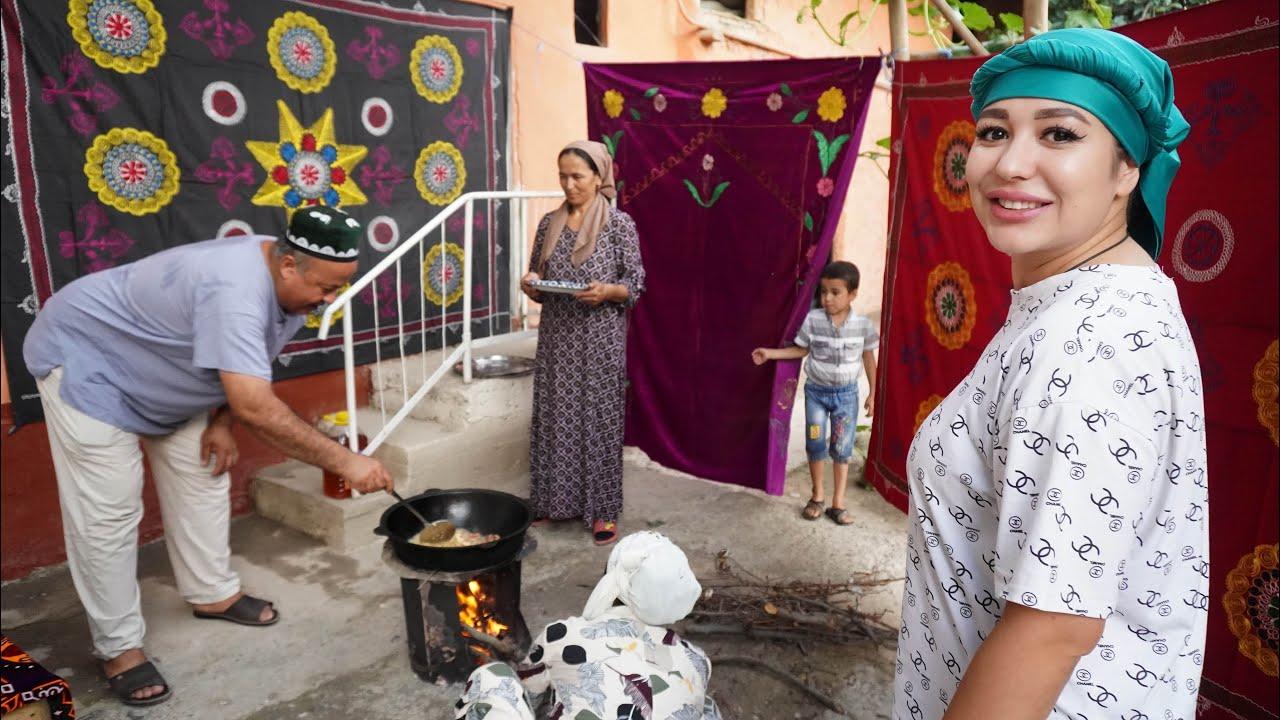 Узбекистан! Как отмечают день Арафа. Праздничный плов с болгарским перцем, долмой! Наманган