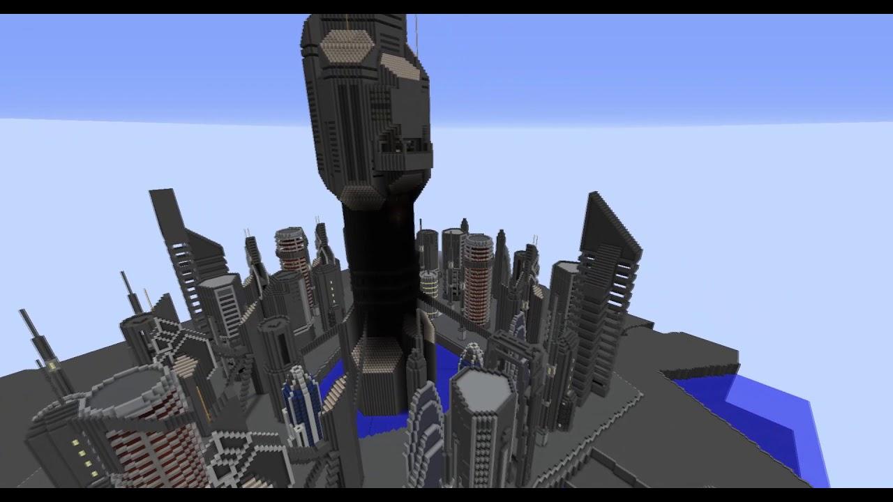 stargate in minecraft atlantis city finale version youtube