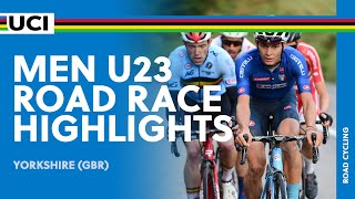 Men U23 Road Race Highlights | 2019 UCI Road World Championships