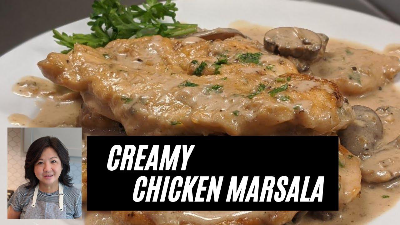 Creamy Chicken Marsala Youtube