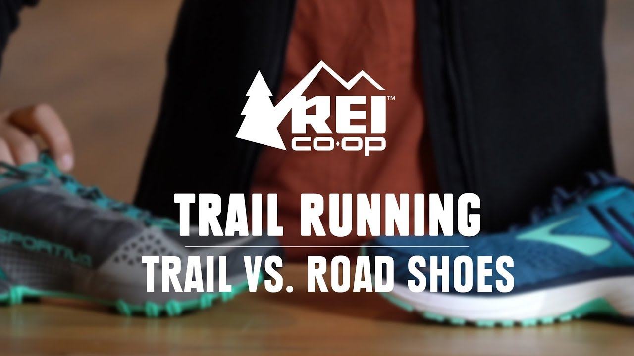 trail running shoes for road running