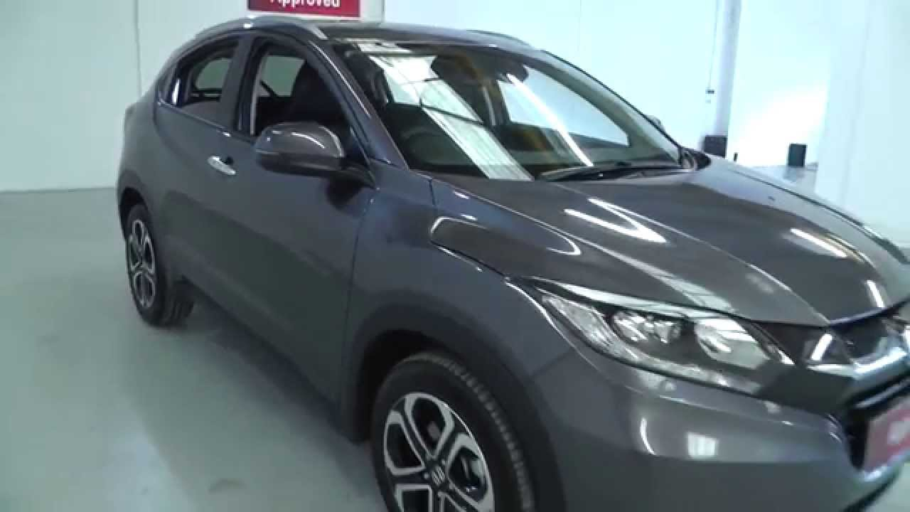 Honda HR-V 1.6 EX In Modern Steel , Video Walkaround